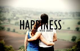 Share Happiness with Others in life