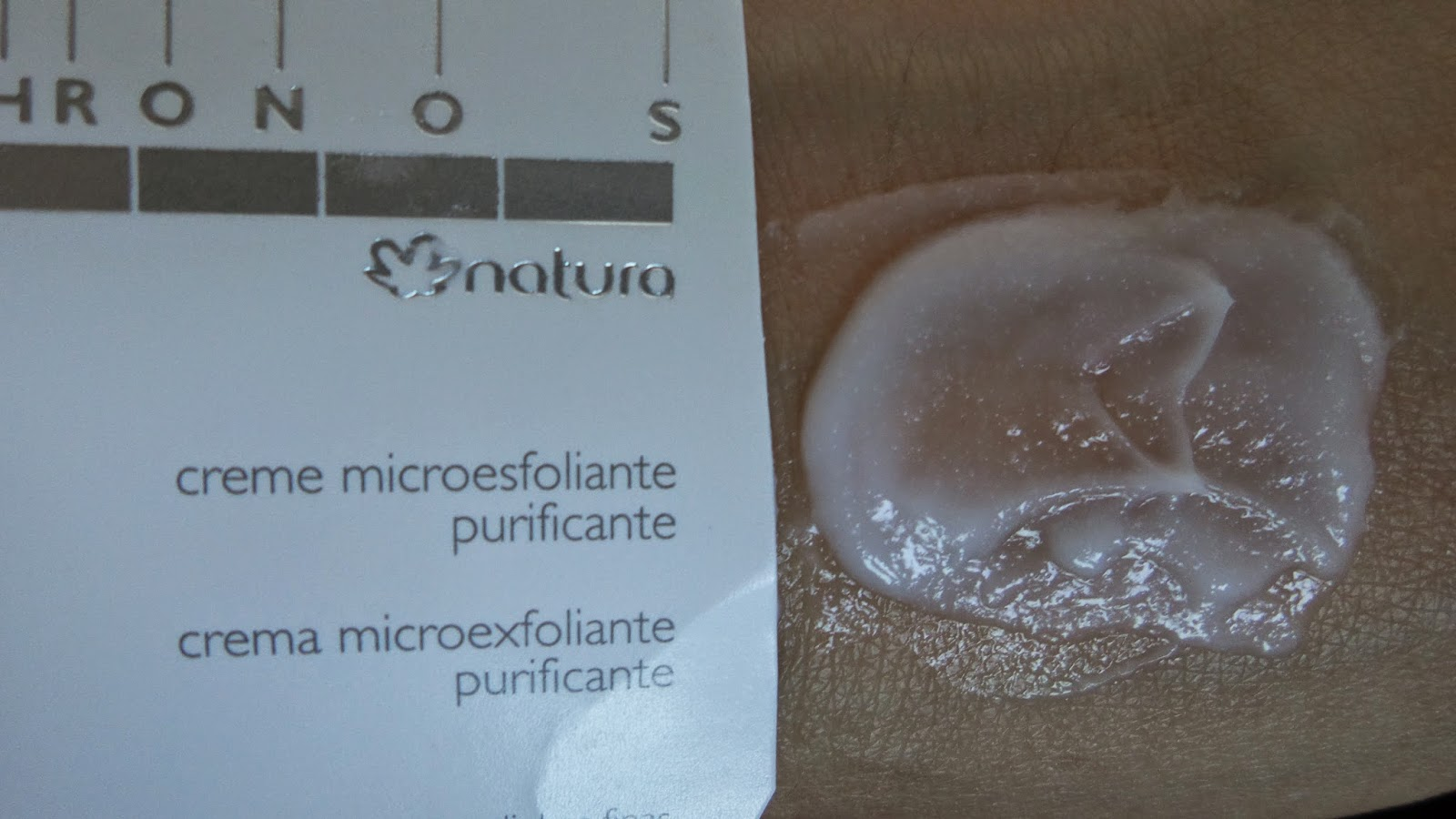 Creme Microesfoliante Purificante Chronos Natura