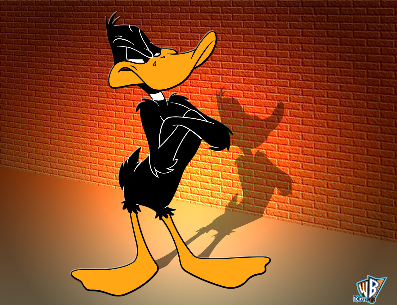 looney tunes daffy duck character wallpaper. Black Bedroom Furniture Sets. Home Design Ideas