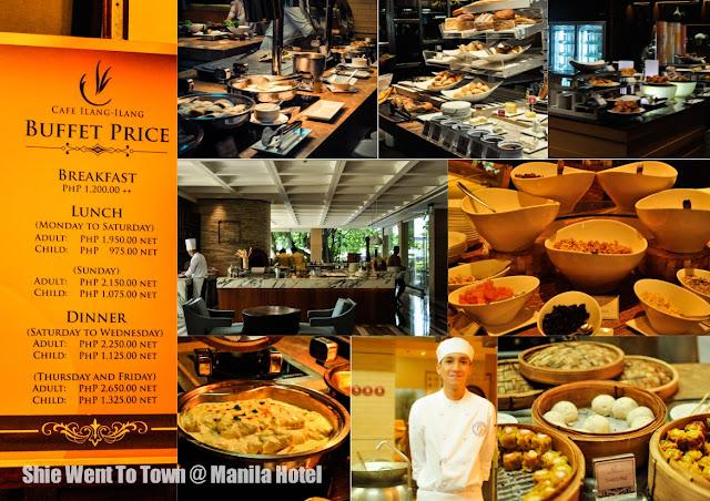 Manila Hotel's Cafe Ilang Ilang