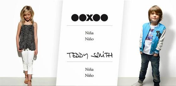 ooxoo y Teddy Smith, oferta de moda infantil
