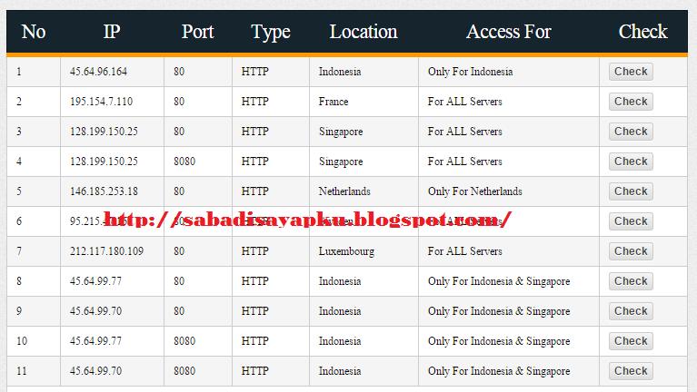 Cara Paling Mudah Mencari Squid Proxy Untuk SSH