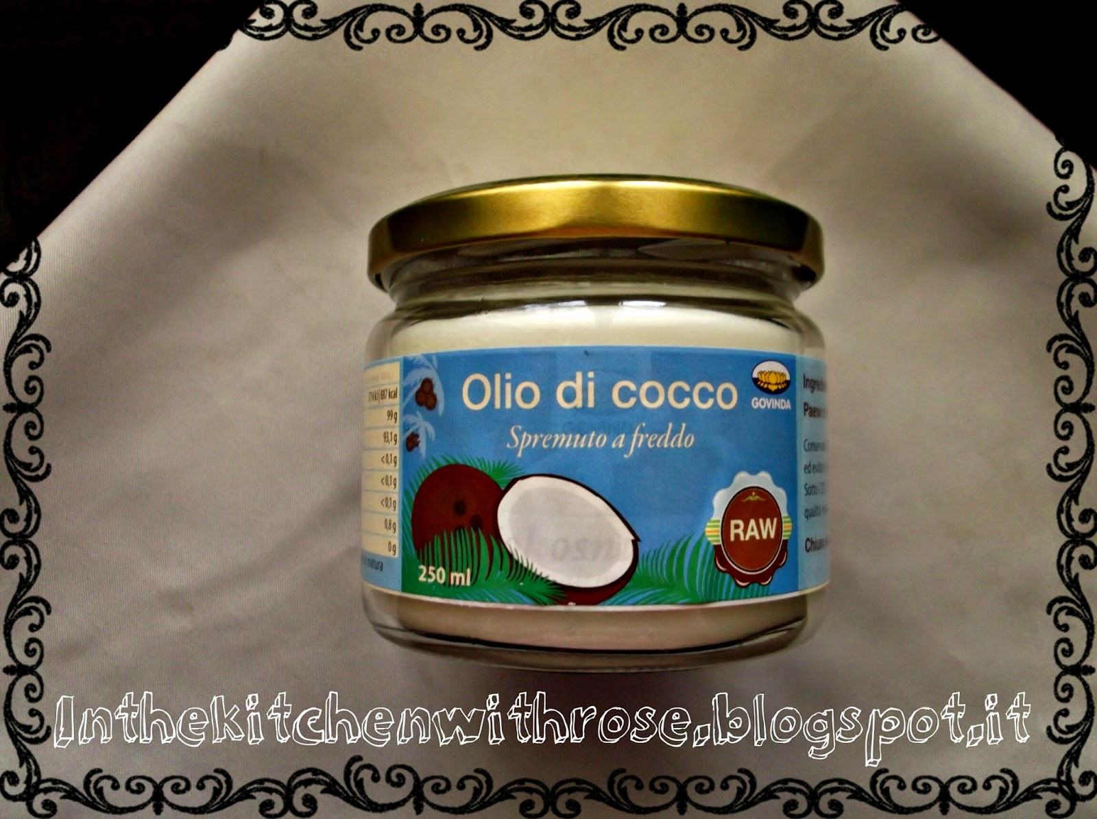 In the kitchen with rose ronnie olio di cocco in cucina - Olio di cocco cucina ...