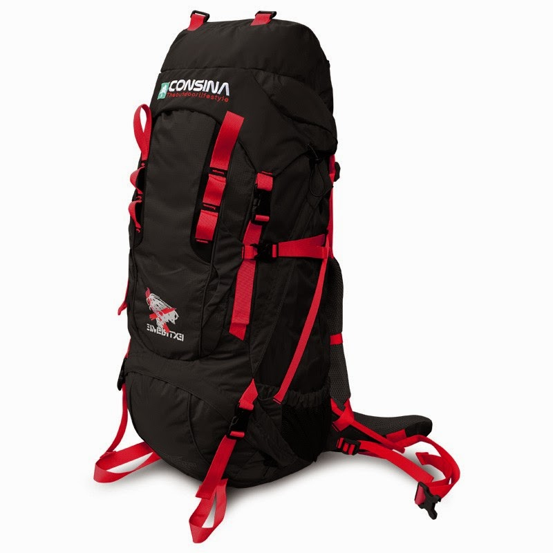 Carrier Consina Expedition 75+10 Liter Hitam