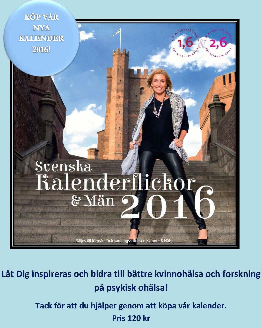 kalender 2016 män