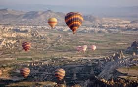 Nahas Belon Udara Di Cappadocia Turki