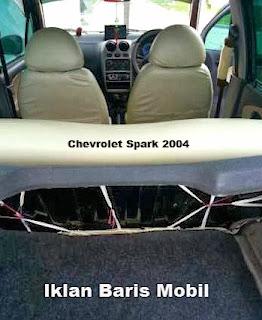Dijual chevrolet spark 2003, Iklan baris mobil