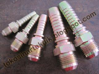 Nepel/Fitting MJ, umum digunakan pada mesin industri dan otomotif