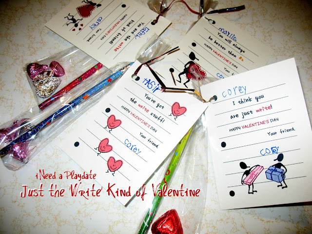 Write kind of valentines