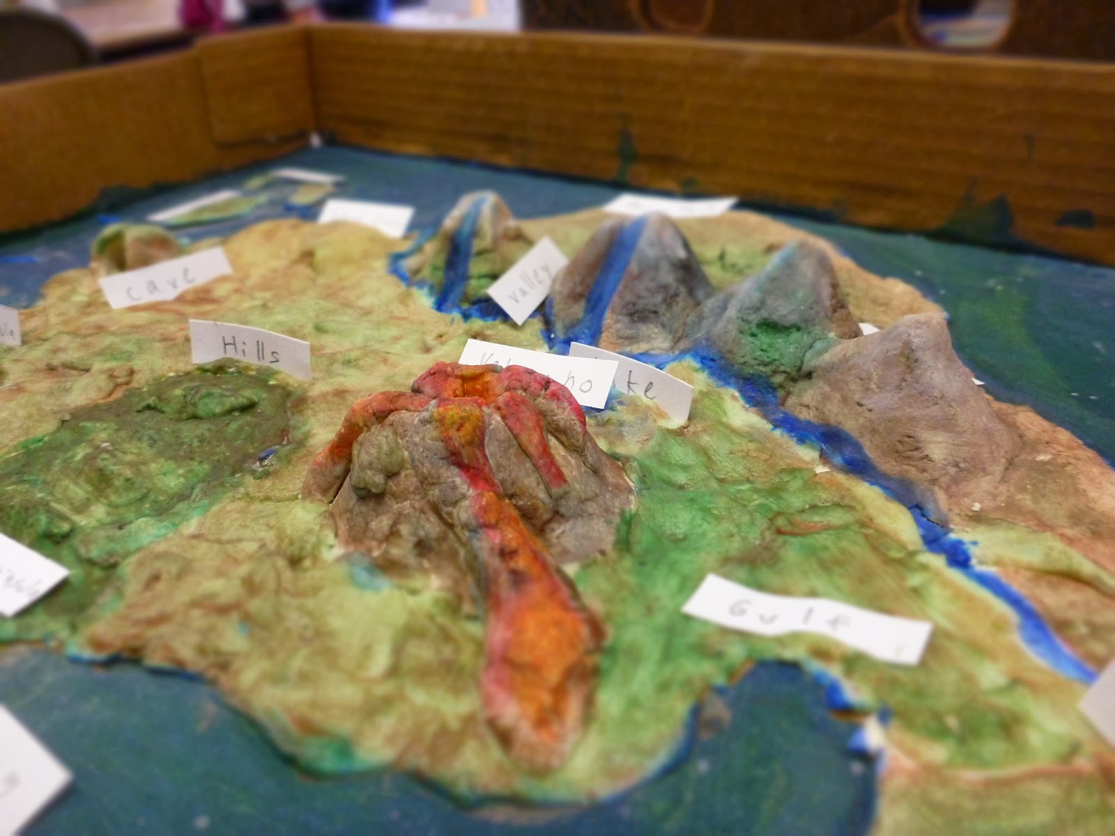 landform project What are landforms  features such as volcanoes, lakes, rivers, mid-ocean ridges, and the great ocean basins are also part of landform features.