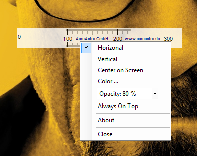 Screenruler Windows Settings