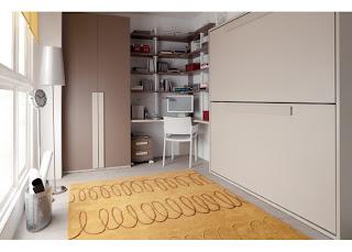 Fotografias de dormitorios con literas abatibles for Literas juveniles economicas