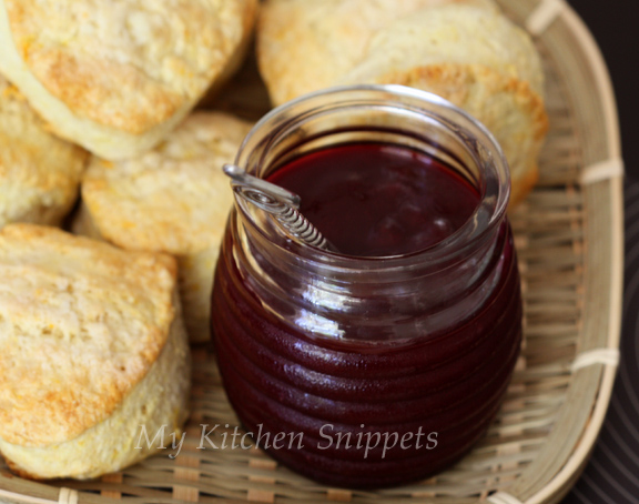 My kitchen snippets plum jam - Plum jam without sugar homemade taste and health ...
