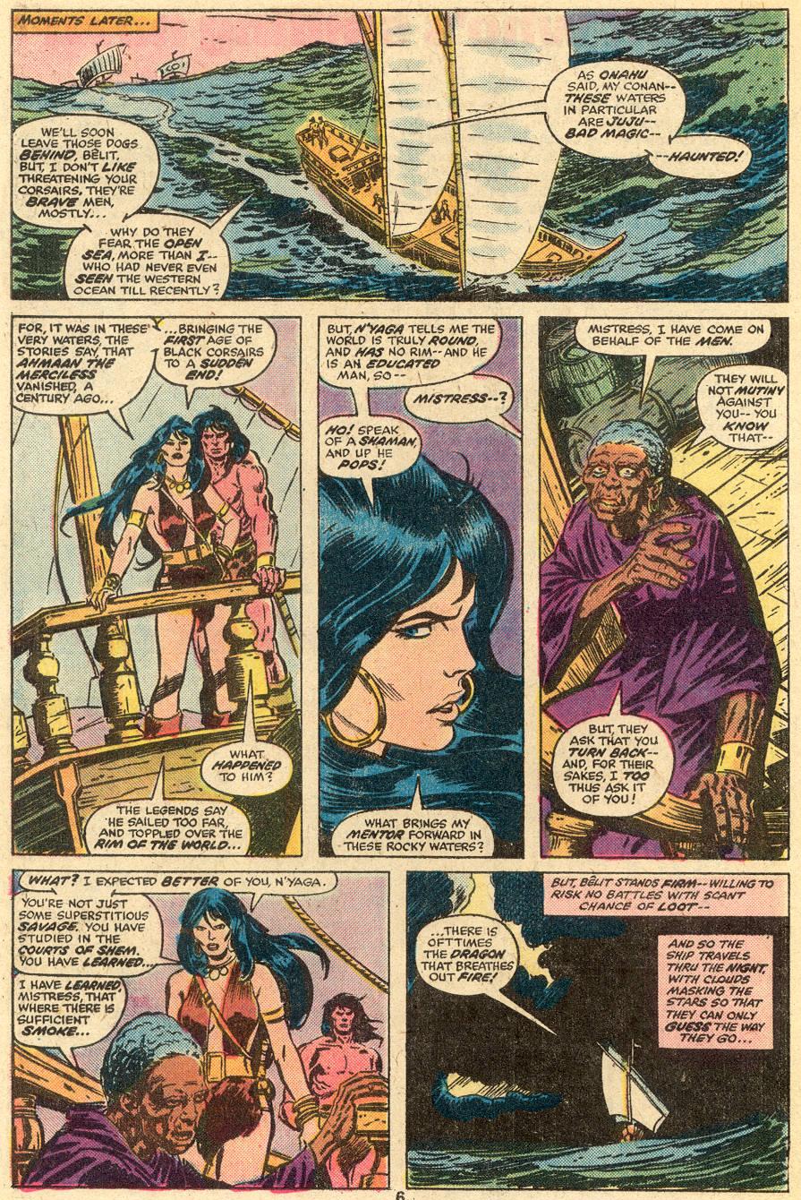 Conan the Barbarian (1970) Issue #65 #77 - English 5
