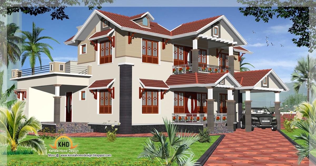 Duplex House Elevation 4000 Sq Ft Keralahousedesigns