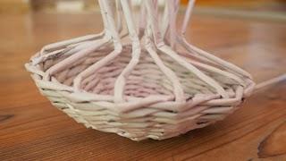Cute Woven Paper Mushroom