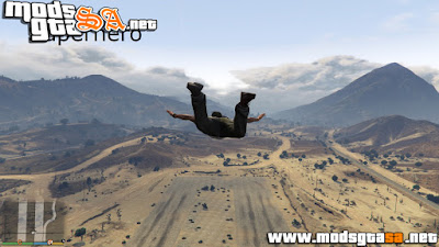 V - Mod Super Hero para GTA V PC