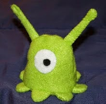 http://www.instructables.com/id/Brain-Slug-Plushie-Pattern/