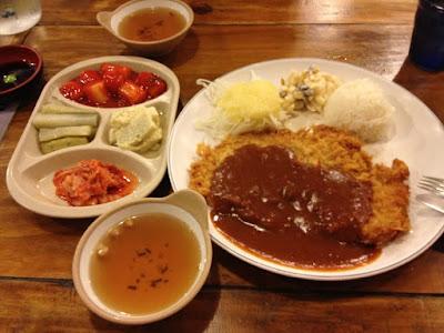 Chicken Katsu Curry Set in My Neighbour Totoro Themed Restaurant Edae