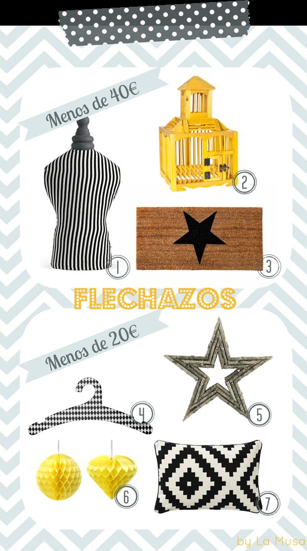Flechazos, La Musa Decoración, Style, Decor, Home, Hogar, Accesorios, Complementos, low cost, Decoración