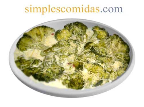 brocoli a la crema
