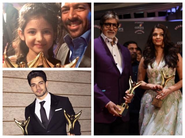 Winners of Stardust Awards 2015