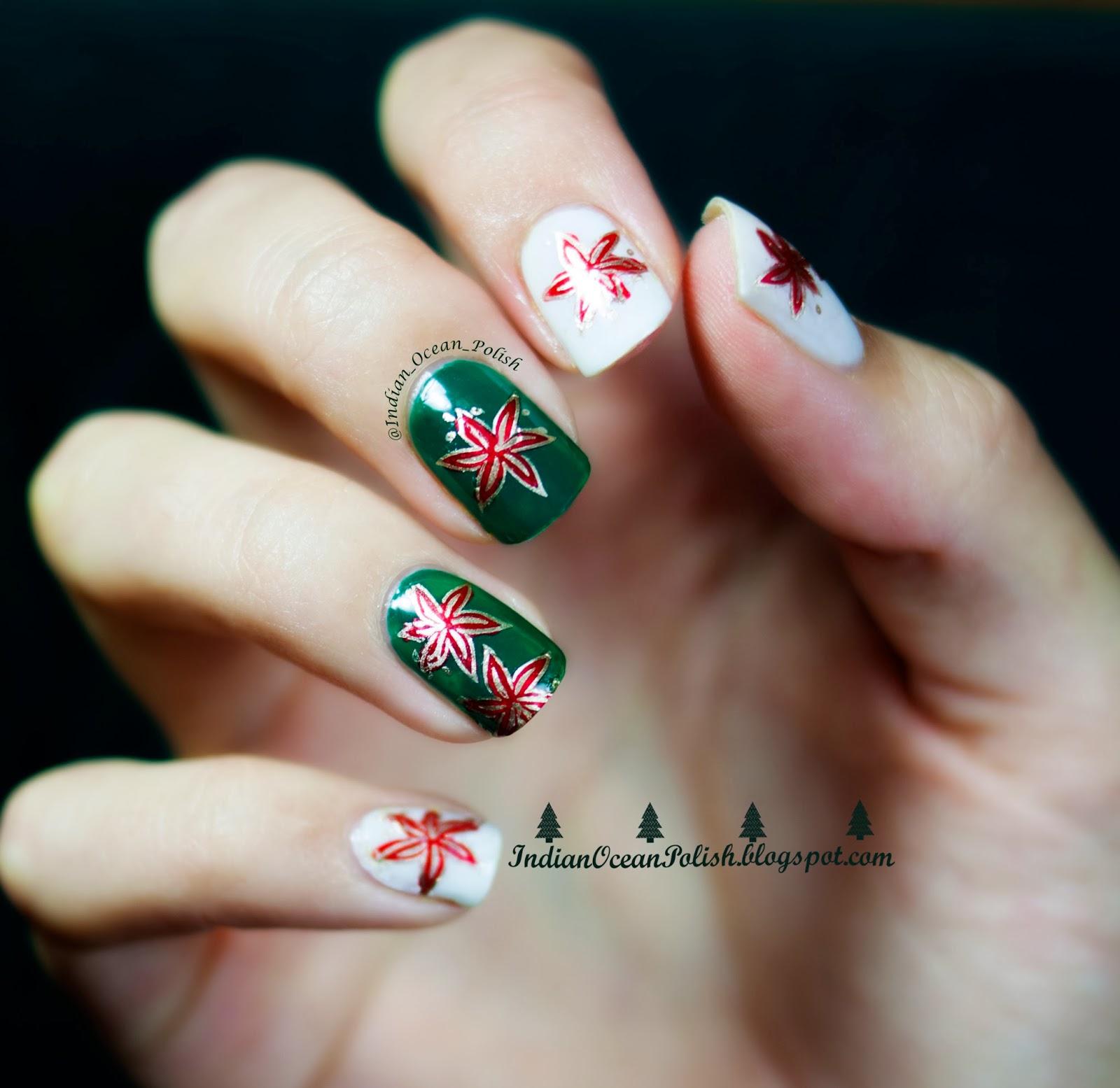 Indian Ocean Polish Christmas 2013 Nail Art Ideas Simple And Not