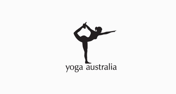 Naked Yoga Girl Making The Map of Australia