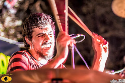 Gonçalo on drums