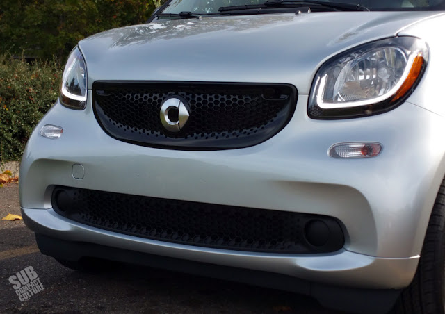 Smart Fortwo grille