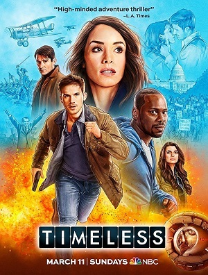 Série Timeless - 2ª Temporada Legendada 2018 Torrent