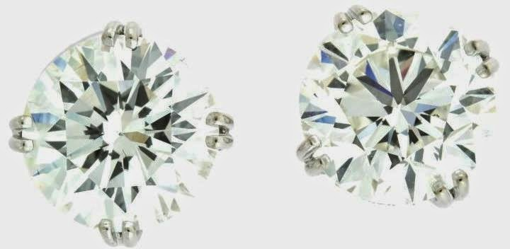 Harry Kotlar 2.0ct Diamond White Gold studs