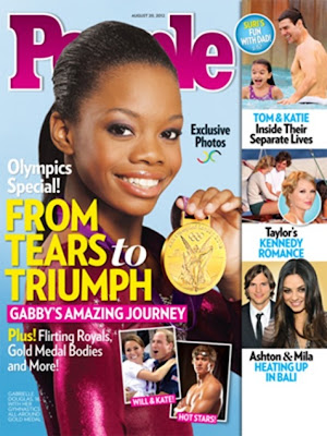 Gabby Douglas on People Magazine cover