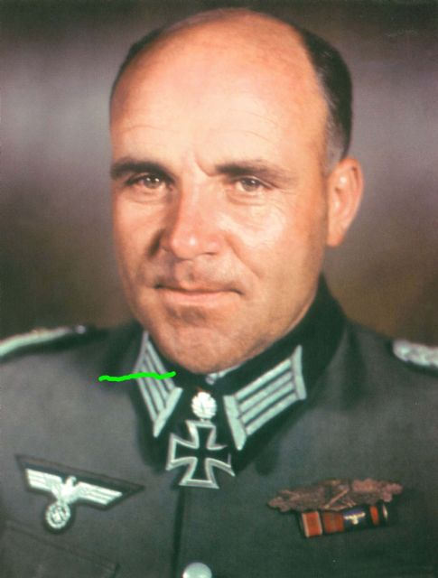 Third reich color pictures generalmajor max sachsenheimer