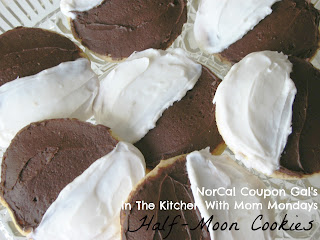 In The Kitchen With Mom Mondays: Half-moon cookies