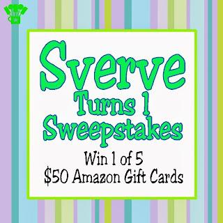 Sverve First Birthday Pinterest Sweepstakes. #SverveTurns1