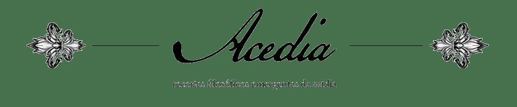 Acedia: recortes filosóficos e literários emergentes da mídia