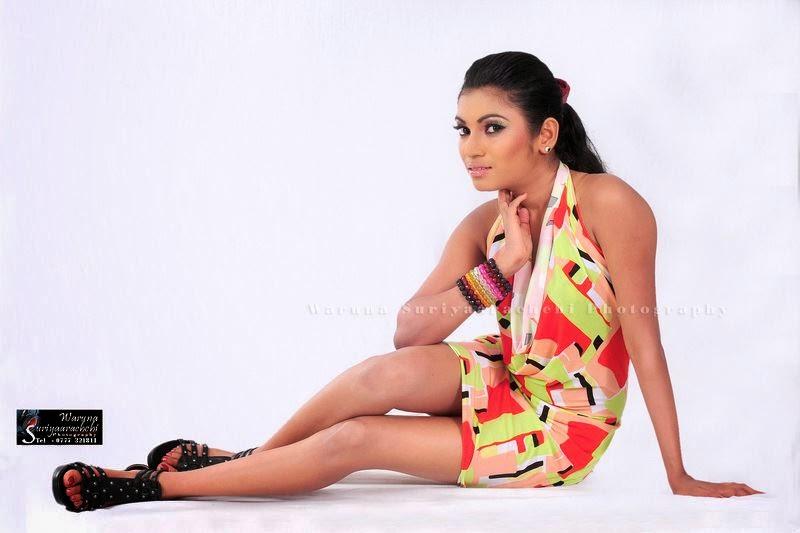 Sri Lankan model gal deka