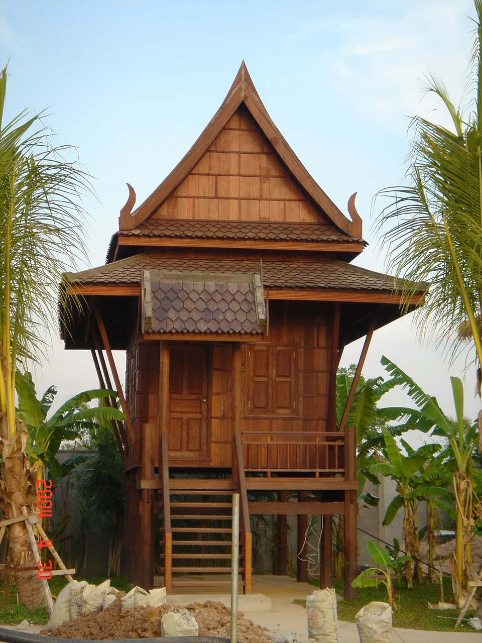 Style Ancient Khmer House