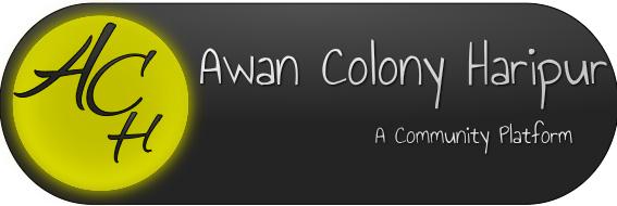 Awan Colony Haripur
