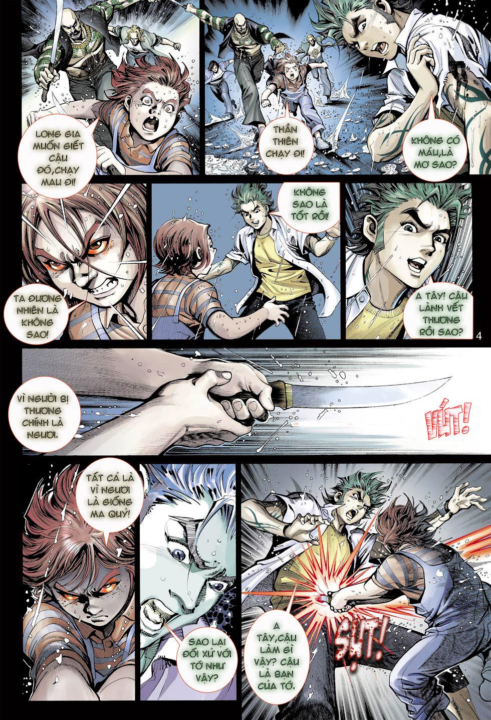 Thần Binh 4 chap 23 - Trang 4