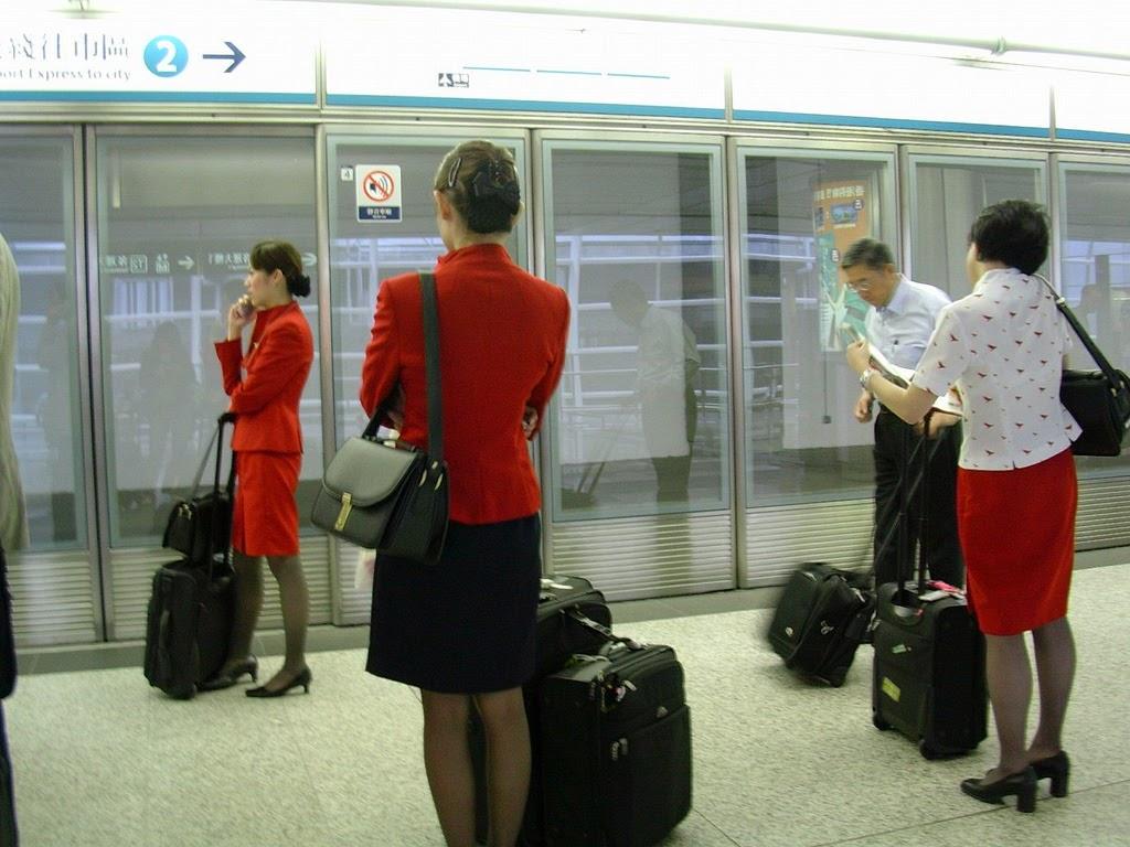 World stewardess Crews: Cathay Pacific Beauty: Eden Lo