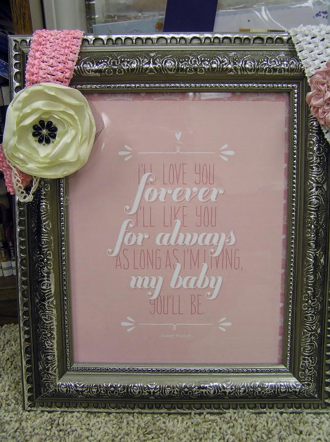 Forever Lois: I\'ll love you forever frame