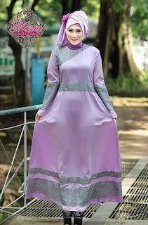 Aneka Pilihan Baju Muslim Dress Lebaran Terbaru