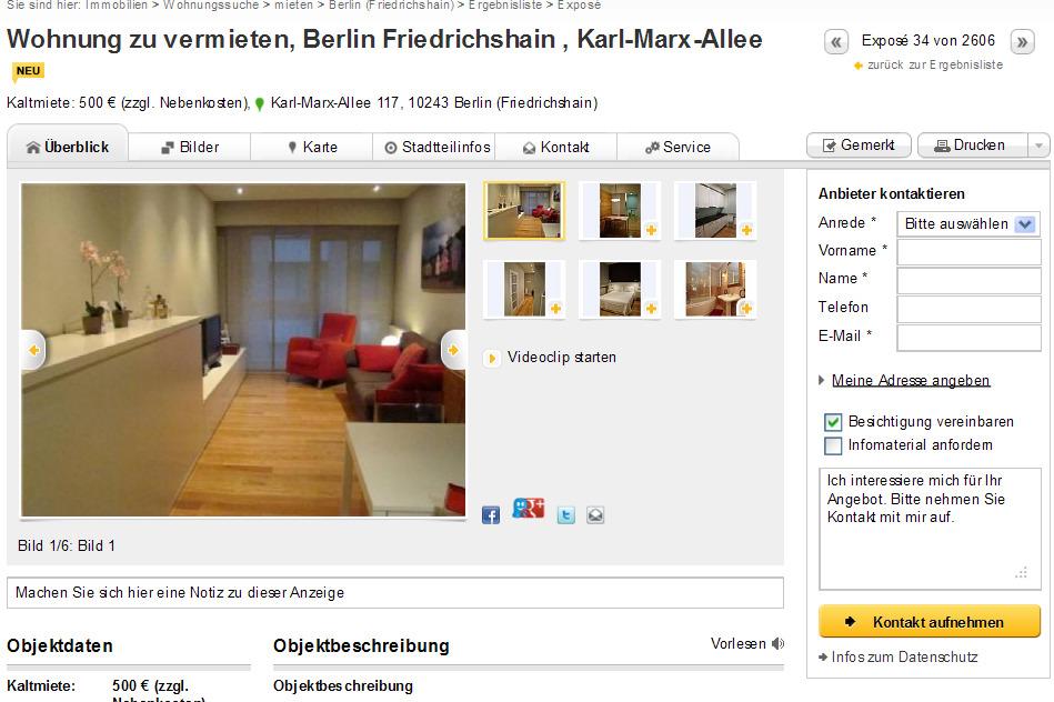 Wohnung zu vermieten berlin for Zu vermieten wohnung