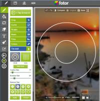 Fotor sito e app di modifica foto