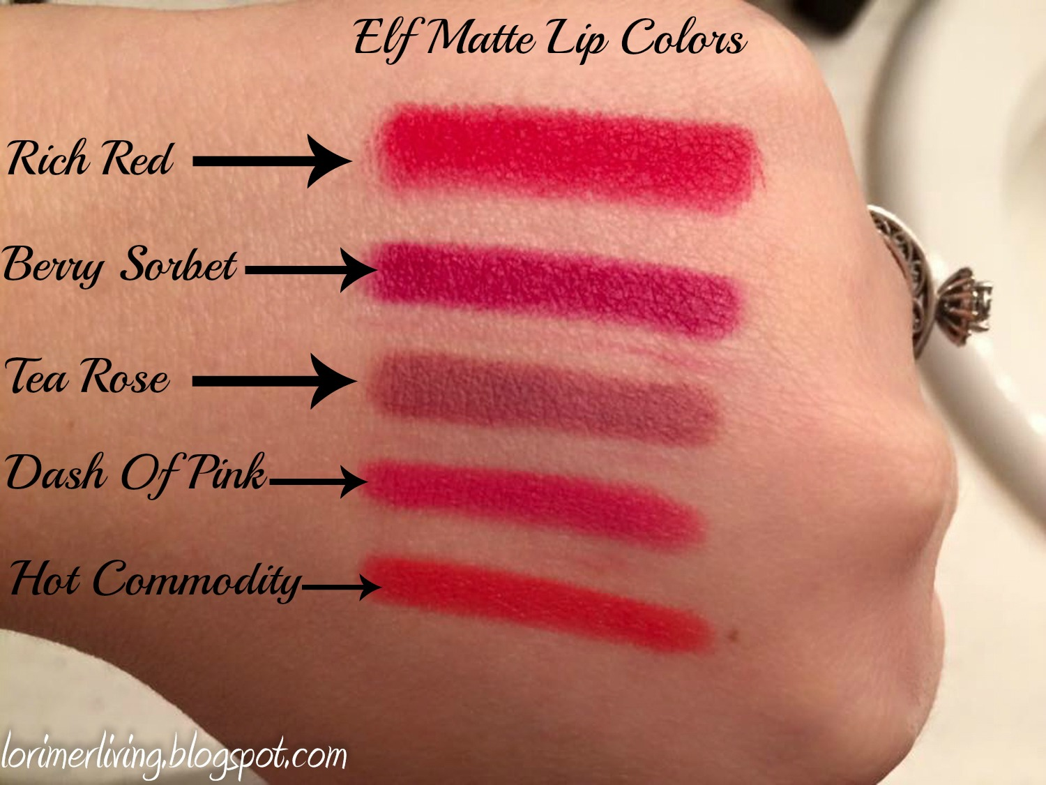 Matte lip color elf