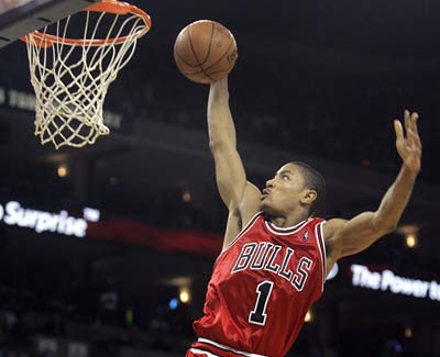 chicago bulls derrick rose mvp. chicago bulls derrick rose mvp