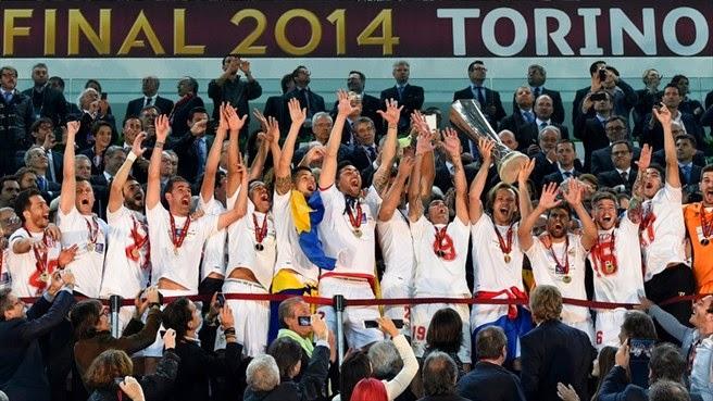 FUTBOL UEFA Europa League 2013/14 - El Sevilla conquista su tercera Copa UEFA en los penaltis