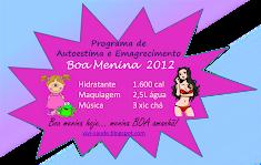 Programa A.E. Boa Menina 2012